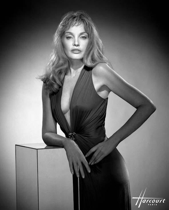 La belle actrice Arielle Dombasle