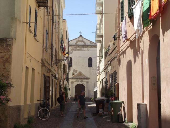 Eglise dans la vieille ville