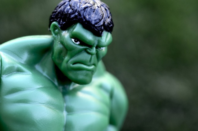 Hulk un peu énervé